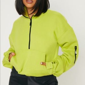 Pretty little thing lime sweater